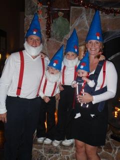 Gnome Costume Woo Who
