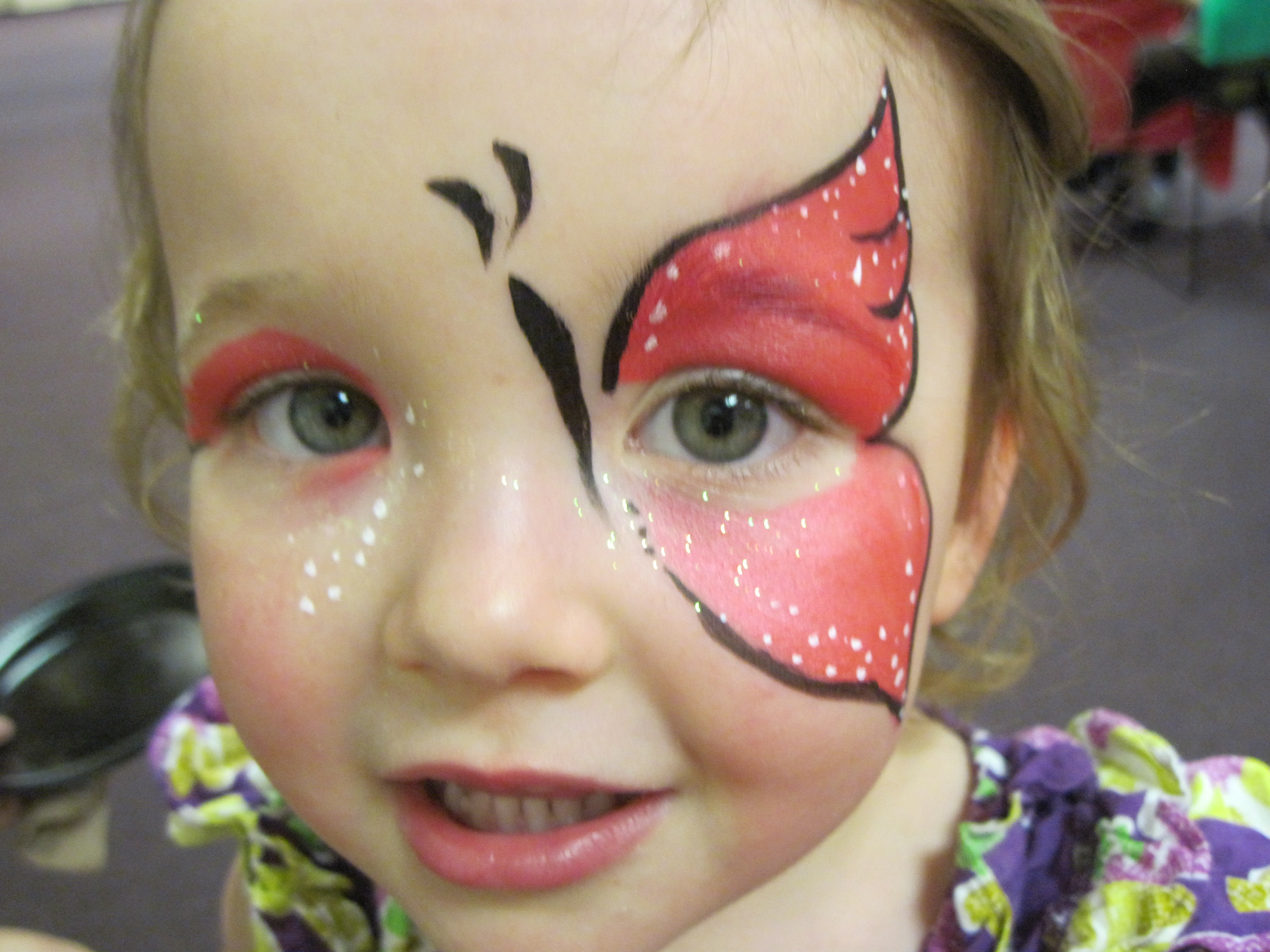 Face painting woo who for Painting ideas for boys