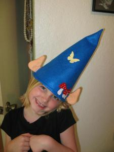 gnome hat with ears