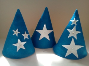 Star Felt Party Hats